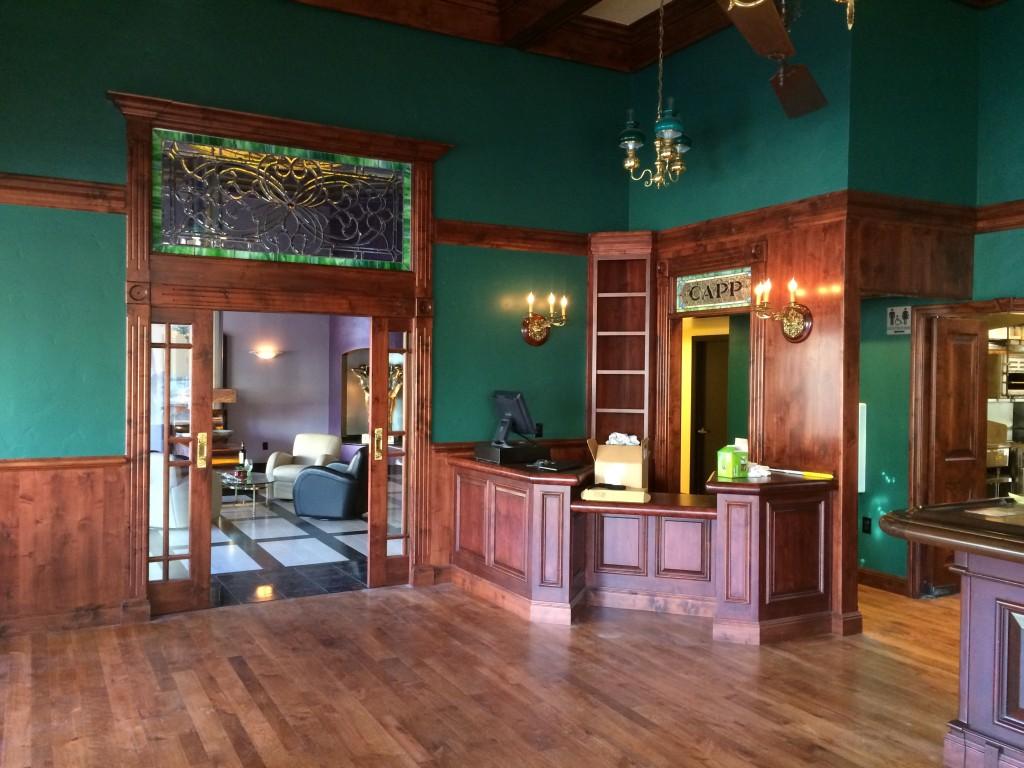 Capp Heritage Tasting Room Napa - commercial tenant improvements 15